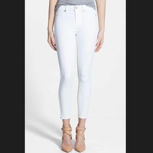 Paige Denim Hoxton White Jeans